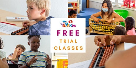 Free Mental Arithmetic Trial Class on the 23 and 25 September billets