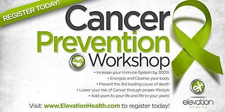 Cancer Prevention Workshop tickets