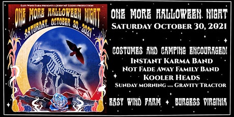 One More Halloween Night tickets