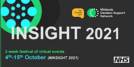 INSIGHT 2021 4th - 15th October 2021 tickets