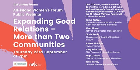 Expanding Good Relations - More Than Two Communities tickets