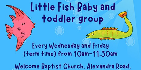 Little Fish baby and toddler group tickets