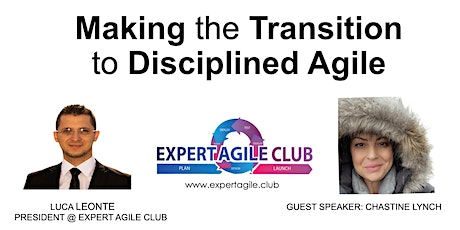 Making the Transition to Disciplined Agile tickets
