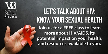 Let's Talk About HIV: Know Your Sexual Health tickets