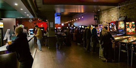 Arcade and video games dance singles party tickets