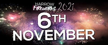 Harrow Fireworks Display, Saturday 6th November 2021 (celebration of cultur tickets