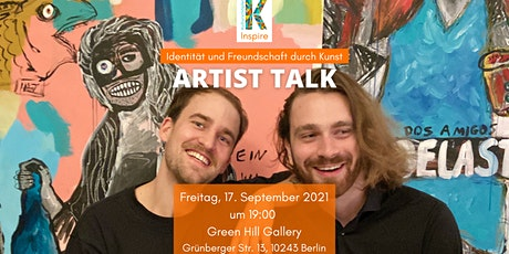 Artist Talk. Identität und Freundschaft durch Kunst tickets