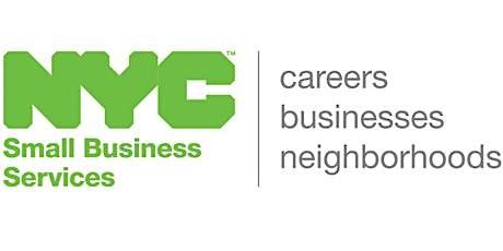 Webinar Small Business Financing, Upper Manhattan, 11/18/2021 tickets