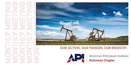 Dickinson API September Meeting tickets