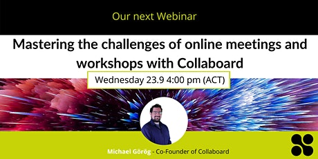 Mastering the challenges of online meetings & workshops with Collaboard tickets