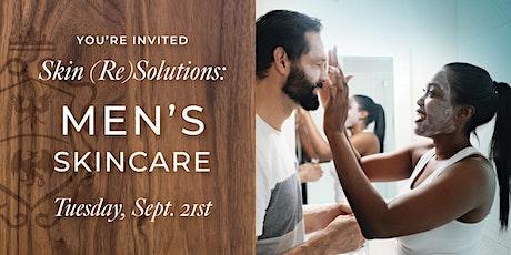 Men's Skincare tickets