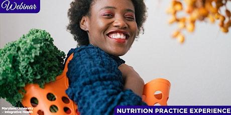 Webinar | Nutrition Post-Graduate Practice Experience tickets