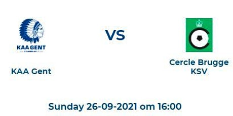 Jupiler Pro League: KAA Gent - Cercle Brugge tickets
