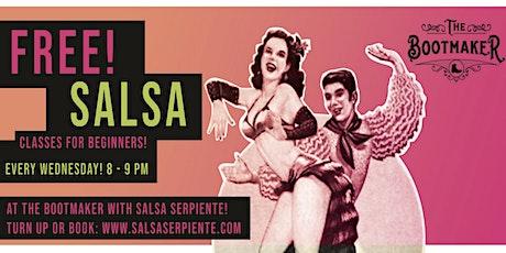 Free Salsa Class - Wednesday The Bootmaker tickets