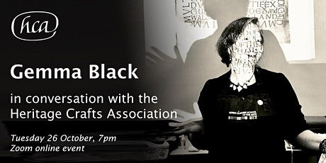 Gemma Black in Conversation with the Heritage Crafts Association tickets