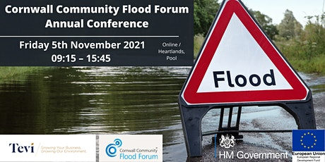 Cornwall Community Flood Forum's Annual Conference at Heartlands tickets
