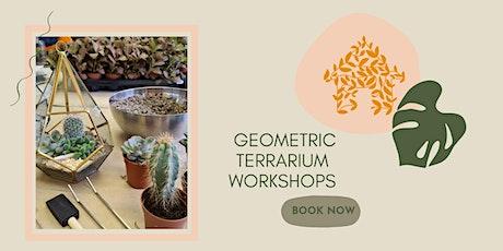 Geometric Terrarium Workshop tickets