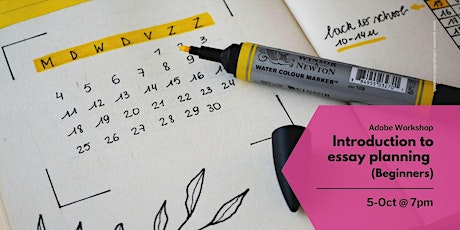 Introduction to Essay Planning (Beginners) (19:00 - 20:00) tickets