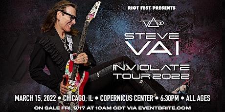 Steve Vai:Inviolate Tour tickets