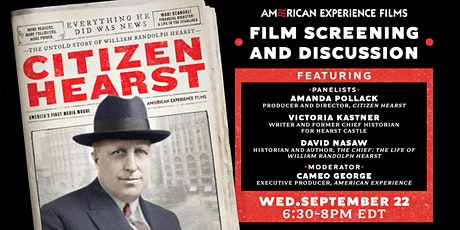 """""""Citizen Hearst"""" Preview Screening and Discussion tickets"""