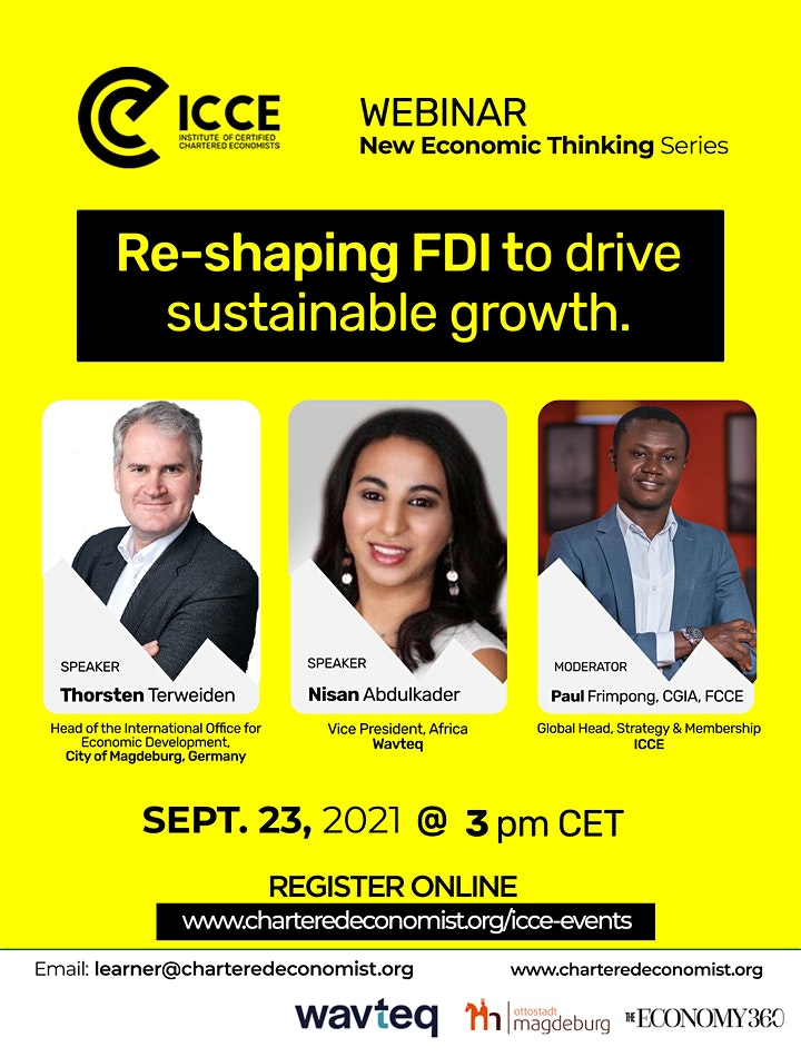 ICCE Webinar: Re-shaping FDIs to drive sustainable growth image