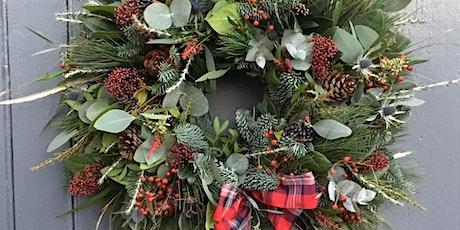 Christmas Wreath Making Workshop 2021 tickets