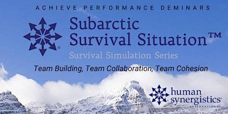 Subarctic Survival Simulation Deminar tickets