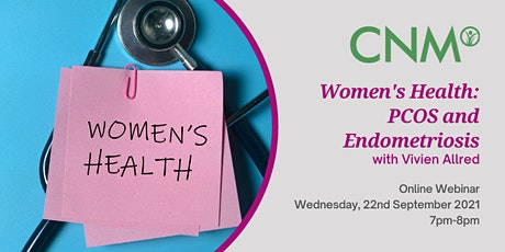 CNM Health Talk:  Women's Health: PCOS and Endometriosis tickets
