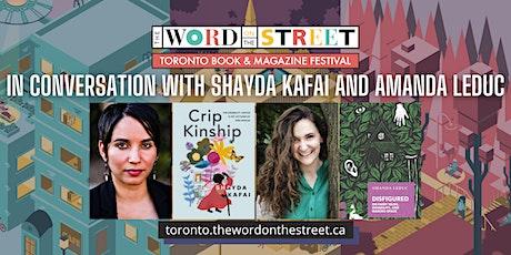 Diaspora Dialogues: In Conversation with Shayda Kafai and Amanda Leduc tickets