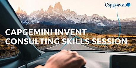 Capgemini Invent – Accelerate Programme Skills Session - UoS (2) tickets