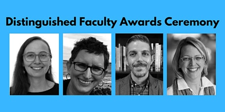 Distinguished Faculty Awards Ceremony tickets