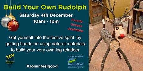 Build your own Rudolph - Family friendly event tickets