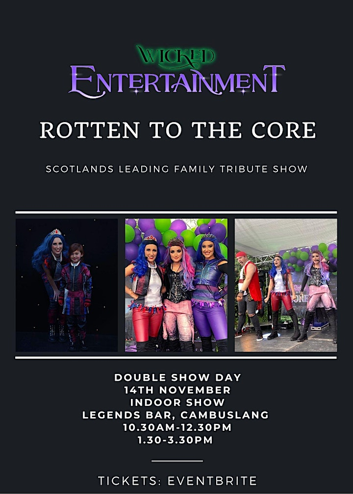 Rotten To The Core - Scotlands Leading Family Show image