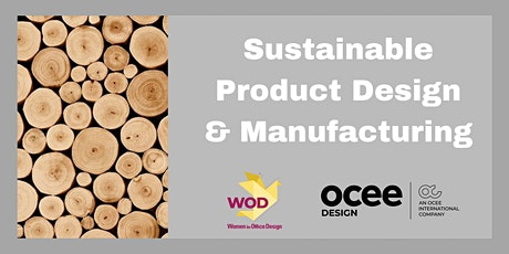 Sustainable Product Design & Manufacturing – tackling the realities tickets