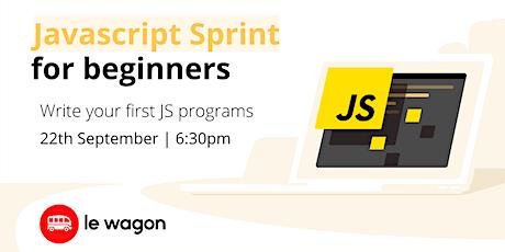 Javascript Sprint for Beginners tickets