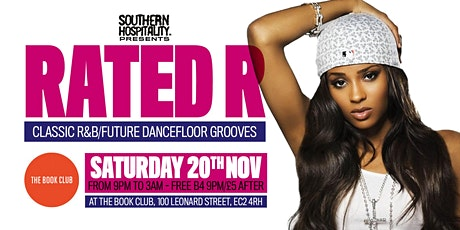 Rated R - R&B Classics + Rap Anthems! tickets