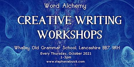 Word Alchemy, Creative Writing Workshops tickets