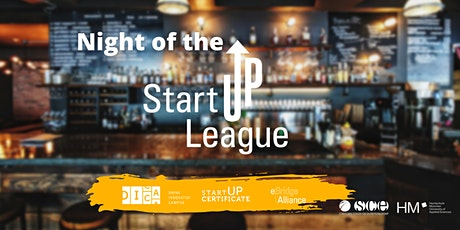 Innovations-Café: Night of the Start-up League Tickets