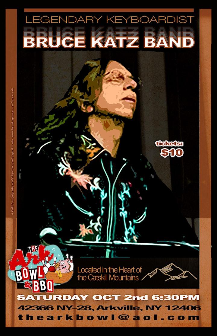 Bruce Katz Band LIVE @ The Ark Bowl & BBQ image