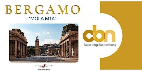 CBN Bergamo e la rinascita delle imprese biglietti