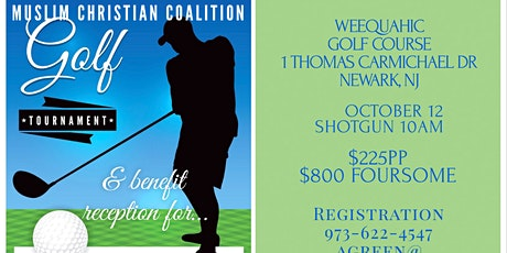Muslim Christian Coalition Golf Tournament and Benefit Cocktail Reception tickets