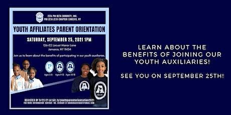 Youth Affiliates Parent Orientation tickets