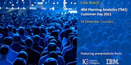 ICit - IBM Planning Analytics (TM1) Customer Day 2021 tickets