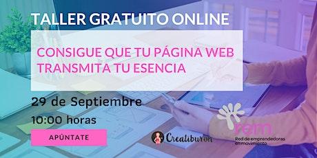 Consigue que tu página web transmita tu esencia ingressos