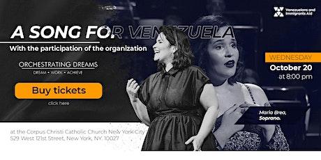 """A Song For Venezuela"" a benefit concert for VIA tickets"