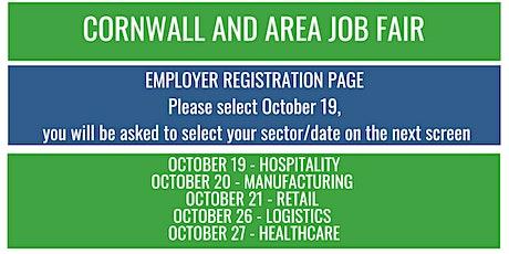 Cornwall and Area Job Fair tickets