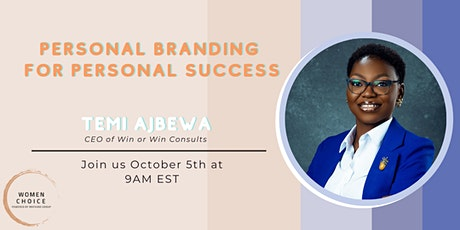 Personal Branding For Personal Success tickets