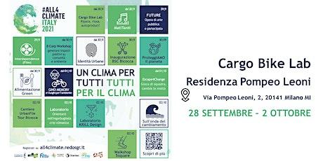 Cargo Bike Lab @Residenza Pompeo Leoni - 01.10 | La Cordata biglietti