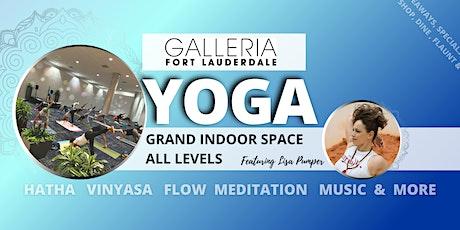 Vinyasa Yoga Master Class & More @ Galleria tickets