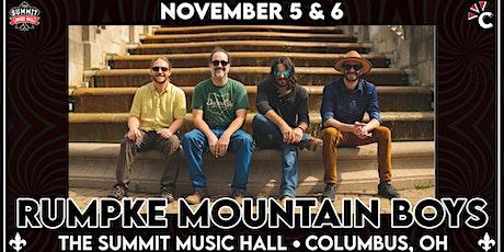 RUMPKE MOUNTAIN BOYS at The Summit Music Hall - November 5 & 6 tickets